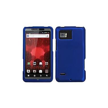 Insten Protector Case For Motorola XT875 Droid Bionic, Titanium Solid Dark Blue (1019493)