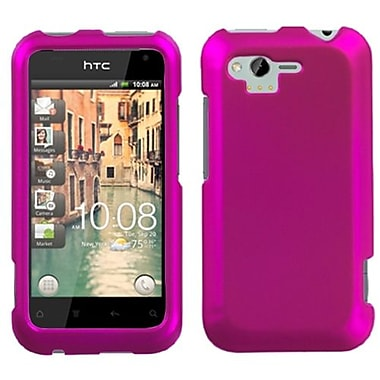 Insten® Protector Case For HTC ADR6330 Rhyme, Titanium Solid Hot-Pink