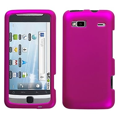 Insten® Protector Case For HTC G2/Vision, Titanium Solid Hot-Pink