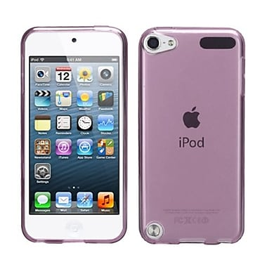 Insten® Candy Skin Cover For iPod Touch 5th Gen, T-Purple