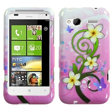 Insten® Protector Case For HTC Radar 4G, Tropical Flowers