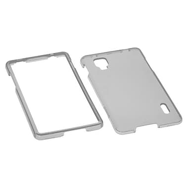 Insten Protector Cover For LG LS970 Optimus G, T-Smoke (1019822)