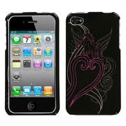 Insten® Phone Protector Cover F/iPhone 4/4S, Unicorn