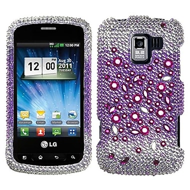 Insten® Diamante Protector Cover For LG VM701/LS700/VS700, Universe