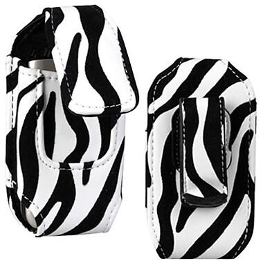 Insten Vertical Pouch, Zebra (1019997)