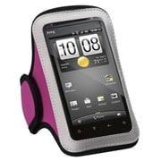 Insten® Vertical Pouch Universal Sport Armband, Hot-Pink