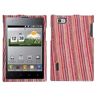 Insten® Protector Cover For LG VS950 Optimus Vu/VS950 Intuition, Vertical Stripes