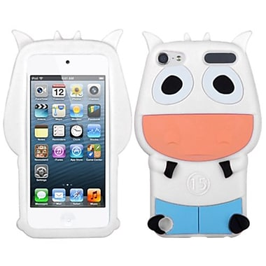 Insten® Cow Pastel Skin Cover For iPod Touch 5th Gen, White