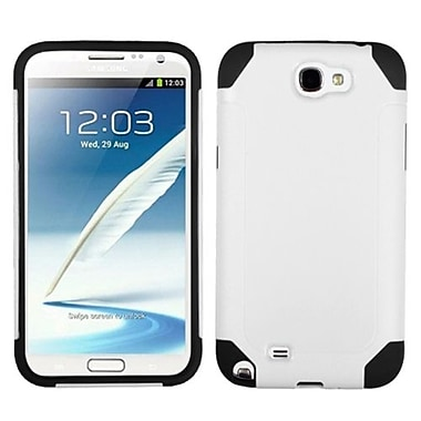 Insten Fusion Hybrid Cover Case For Samsung Galaxy S3 by ApexGears, White/Black (1020110)