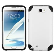 Insten® Fusion Hybrid Cover Case For Samsung Galaxy S3 III S3 by ApexGears, White/Black