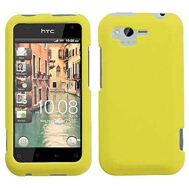 Insten® Protector Case For HTC ADR6330 Rhyme, Yellow