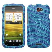 Insten® Diamante Protector Cases For HTC-One S