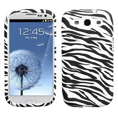 Insten Candy Skin Case For Samsung Galaxy S III, Zebra (1020213)