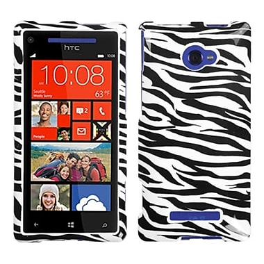 Insten Protector Cover For HTC Windows Phone 8X, Zebra (1020240)