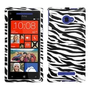 Insten® Protector Cover For HTC Windows Phone 8X, Zebra