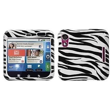 Insten® Protector Case For Motorola MB511, Zebra