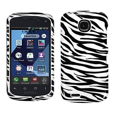 Insten® Protector Cover For Pantech ADR910LVW/Marauder, Zebra