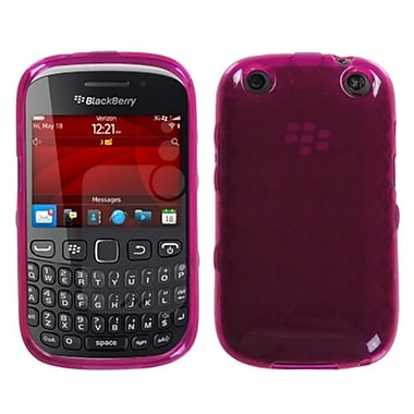 Insten® Check TPU Protector Case For BlackBerry 9310, Pink