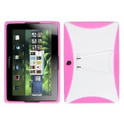 Insten® Gummy Covers With Stand For BlackBerry Playbook
