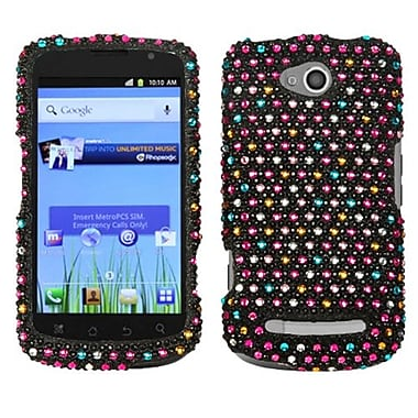 Insten Snap-In Case For Coolpad 5860E Quattro 4G, Sprinkle Dots Rhinestones (1030819)