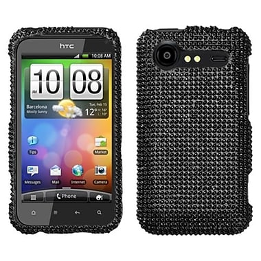 Insten® Diamante Protector Cover For HTC ADR6350 Droid Incredible 2, Black
