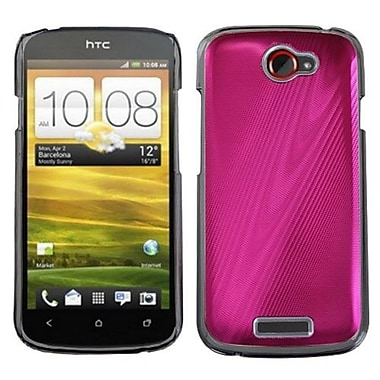 Insten® Back Protector Case For HTC-One S, Pink Cosmo