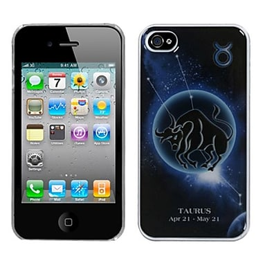 Insten® Horoscope Collection Dream Back Protector Cover F/iPhone 4/4S, Taurus