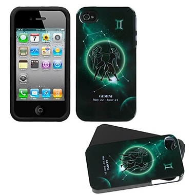 Insten® Horoscope Collection Fusion Faceplate Case F/iPhone 4/4/4SG, GeMini