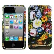 Insten® Phone Protector Cover F/iPhone 4/4S, Blumenstilleben
