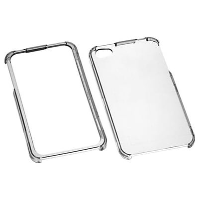 Insten® Phone Protector Cover F/iPhone 4/4S; T-Clear