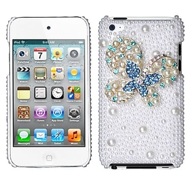 Insten® Diamante Back Protector Covers For iPod Touch 4th Gen