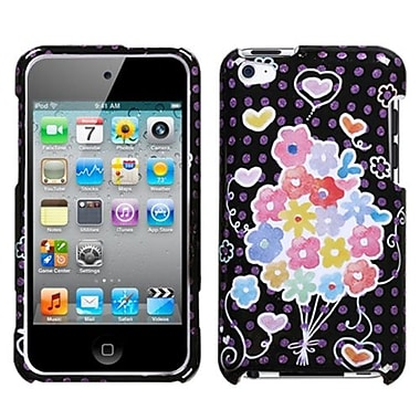 Insten® Phone Protector Cover For iPod Touch 4th Gen, Flower Balloon Sparkle