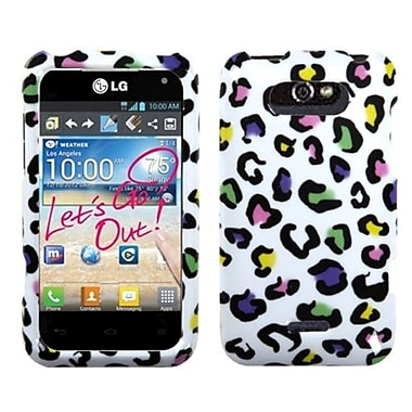 Insten® Phone Case For LG Motion 4G/MS770, Colorful Leopard