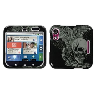 Insten® Faceplate Case For Motorola MB511/Flipout, Skull Wing