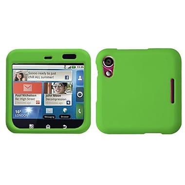 Insten® Faceplate Case For Motorola MB511/Flipout, Dark Green
