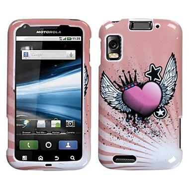 Insten® Faceplate Case For Motorola MB860/Olympus/Atrix 4G, Crowned Heart