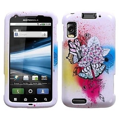 Insten Faceplate Case For Motorola MB860/Olympus/Atrix 4G, Butterfly Paradise (1033383)