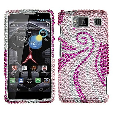 Insten Diamante Protector Case For Motorola Droid RAZR HD XT926W, Phoenix Tail (1033700)
