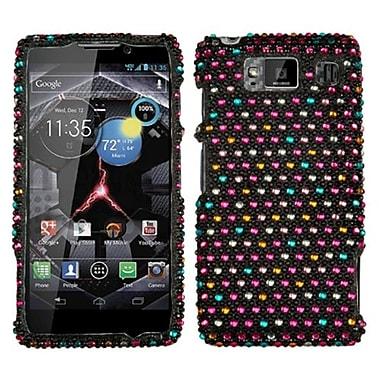 Insten Diamante Protector Case For Motorola Droid RAZR HD XT926W, Sprinkle Dots (1033701)