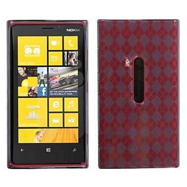 Insten Argyle Candy Skin Cover For Nokia Lumia 920, Smoke (1033772)