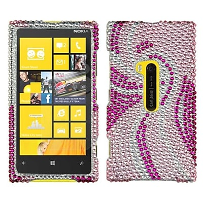 Insten® Diamante Protector Cover For Nokia Lumia 920; Phoenix Tail