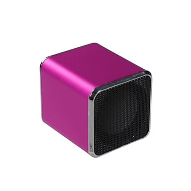 Insten® 6W Mini Mobile Speaker For PC/MP3 Player/Cell Phone, Hot-Pink