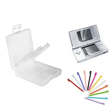 Insten 3 Piece Game Case Bundle For Nintendo DS/DS Lite/DSi/DSi LL/XL (1034949)