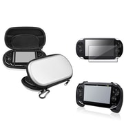 Insten® 1035050 3-Piece Game Case Bundle For Sony PlayStation Vita/Vita 2000