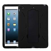 Insten® Symbiosis Stand Protector Cover For iPad Mini/iPad Mini 2, Black/Black