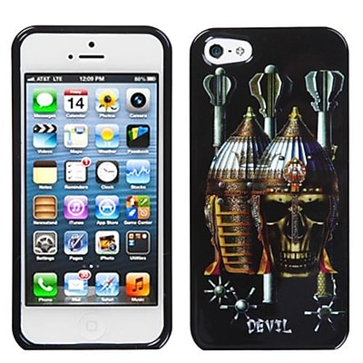 Insten® Phone Protector Cover F/iPhone 5/5S, Ancient Devil