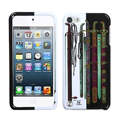 Insten® Phone Protector Case For iPod Touch 5th Gen; Ancient Swords (1038994)