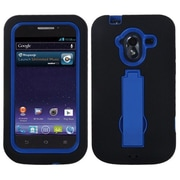 Insten® Symbiosis Stand Protector Case For ZTE-N9120/Avid 4G, Dark Blue/Black