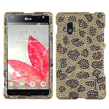 Insten Diamante Protector Cover For LG E970 Optimus G, Leopard/Camel (1058454)