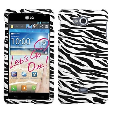 Insten® Protector Case For LG MS870 Spirit 4G, Zebra